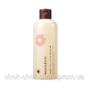 Питательное масло для душа Innisfree Camellia Nourishing Shower Oil, 300мл