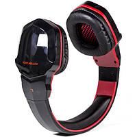 Беспроводные Bluetooth наушники Kotion Each B3505 Черно-красный