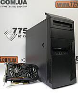 Игровой ПК Lenovo M81, Intel Core i5-2400 3.4ГГц, RAM 8ГБ, SSD 120ГБ, HDD 500ГБ, GTX 1050Ti 4ГБ