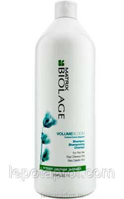 Шампунь для придания объема тонким волосам Matrix Biolage VolumеBloom   1000 ml