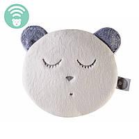 Myhummy - успокаивающая музыкальная мягкая игрушка с белым шумом. Браслет бежевый