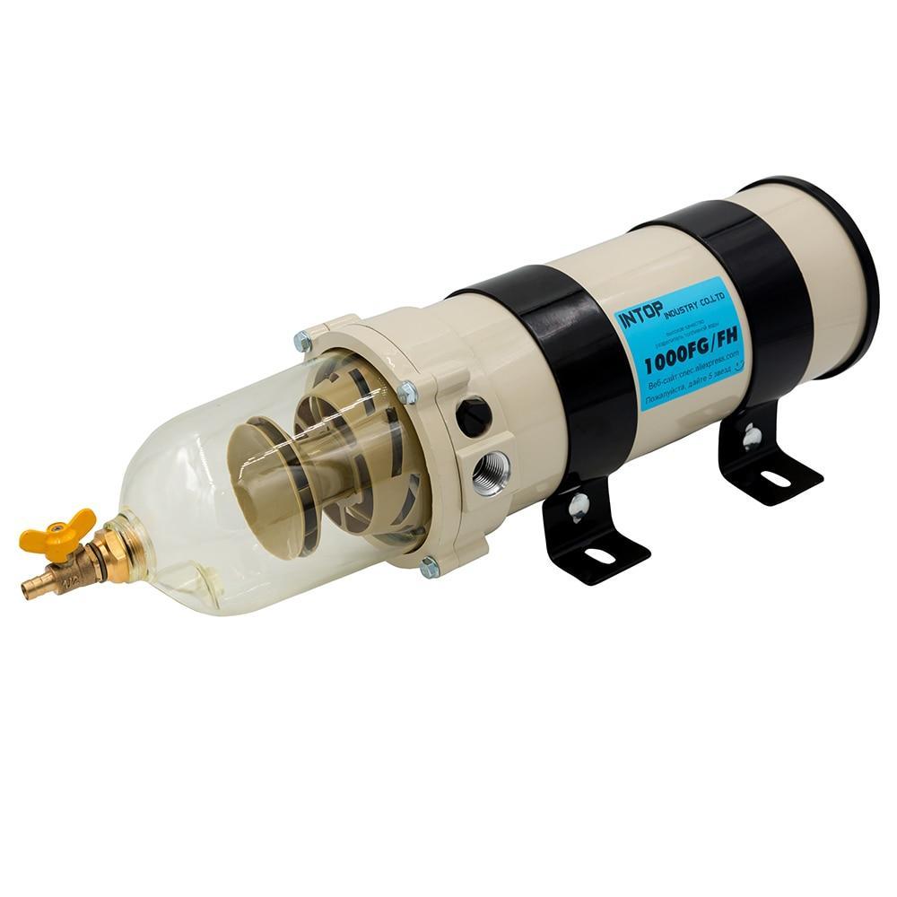 Фильтр сепаратор дизельного топлива с подогревом для грузового транспорта, Аналог Racor 1000FH