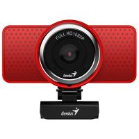Веб-камера Genius ECam 8000 Full HD Red