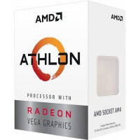 Процессор AMD Athlon 200GE sAM4 (3.2GHzt, 4MB, 35W) BOX