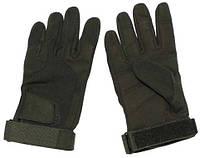 Боевые перчатки легкие, олива
