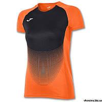 Футболка женская Joma ELITE VI 900641.051 оранжево-черная