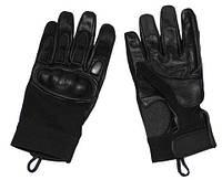 Неопреновые боевые перчатки (с защитой), черные