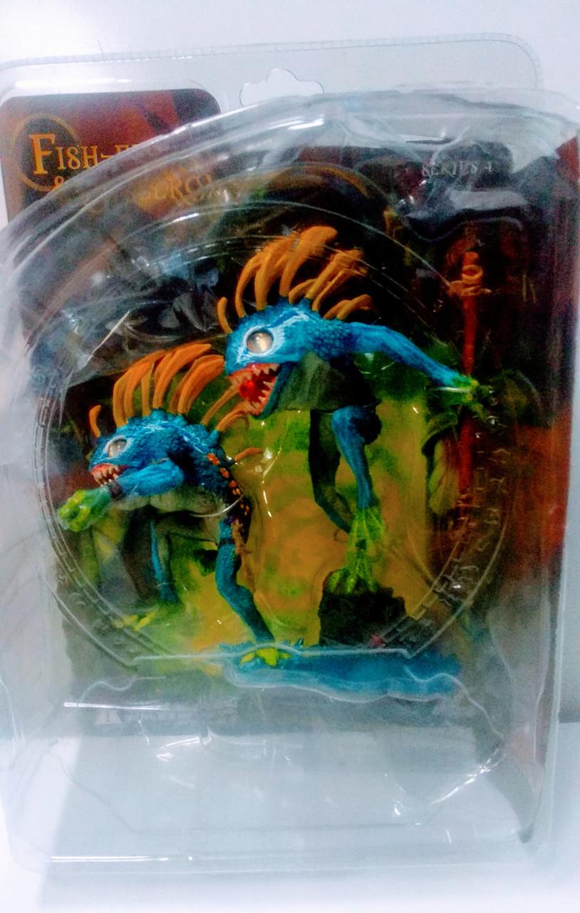 Фигурка Мурлоки Рыбоглаз и Бормотун  - FISH-EYE & GIBBERGILL World of Warcraft