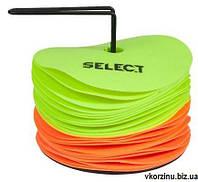 Набор маркеров Select floor marker mat set, 12 лайм + 12 оранж