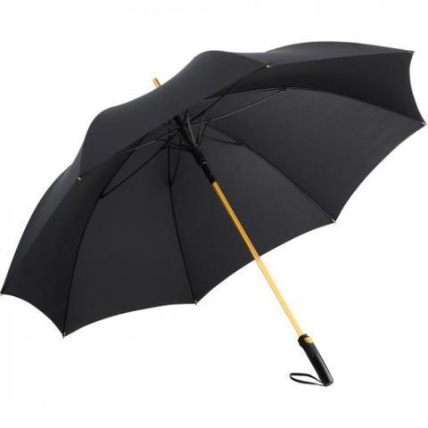 """Зонт гольф автомат """"FARE® Precious"""", ф133, черный/золото"""