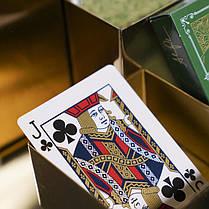 Карты игральные | Green Visa Playing Cards, фото 2