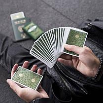 Карты игральные | Green Visa Playing Cards, фото 3