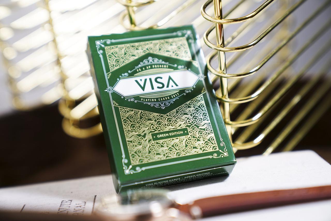 Карты игральные | Green Visa Playing Cards