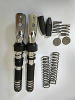 Ремкомплект передней вилки Suzuki Lets (пера в сборе+пружины+отбойники+вкладыши) (Тайвань)