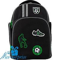 Рюкзак для хлопчика з ортопедичною спинкою Kite Football К19-706M-2, фото 1