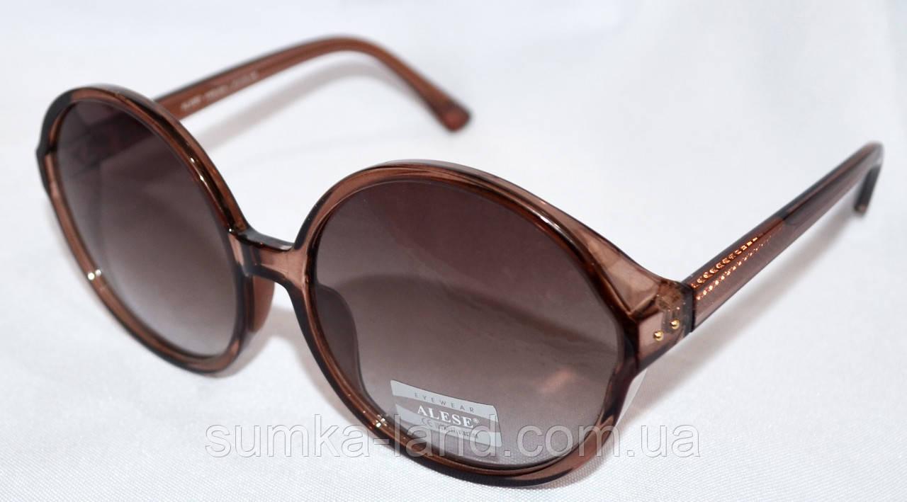 c7e9b9d6cc74 Женские солнцезащитные круглые очки Alese (коричневые): продажа, цена в  Харькове. ...