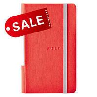 Блокнот 9х14,5 блок: чистый лист ANDO, красный