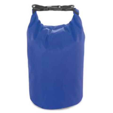 Сумка водонепроницаемая, брезент, синяя