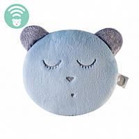 Myhummy - успокаивающая музыкальная мягкая игрушка с белым шумом. Браслет голубой