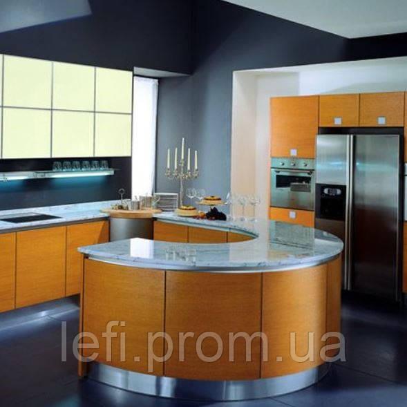 Кухня- фасады шпон на Фурнитуре -Hettich или Blum