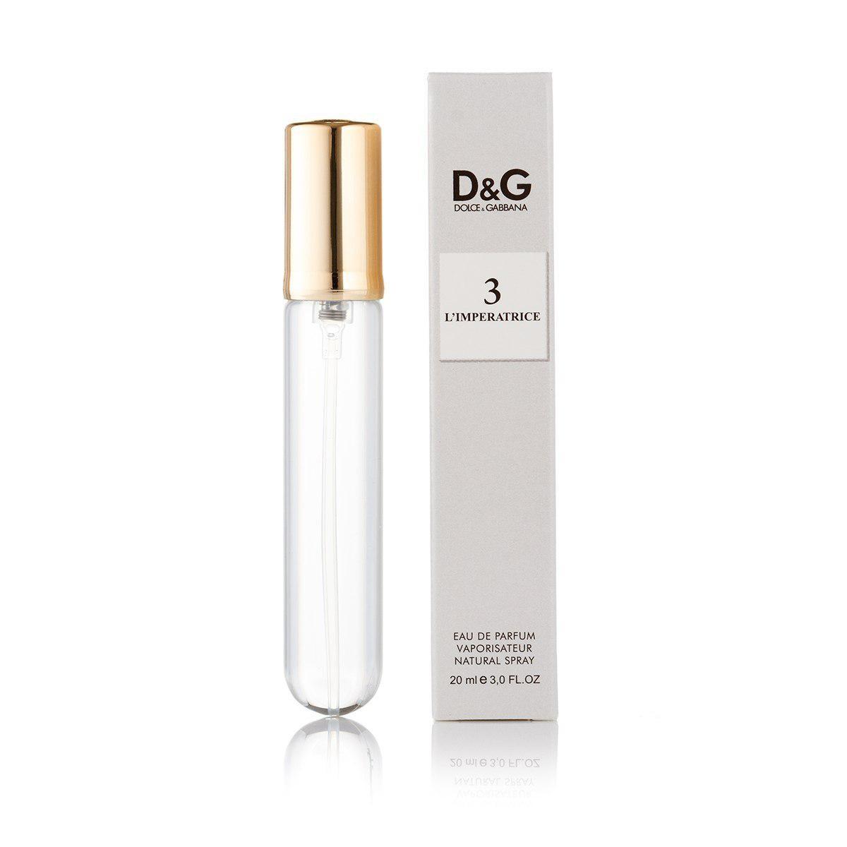 20 мл мини-парфюм D&G Anthology L`Imperatrice 3 (ж)