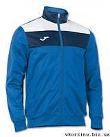 Олимпийка (мастерка) синяя Joma CREW 100225.700