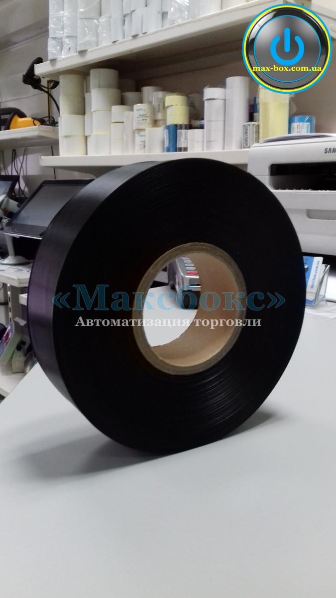 Текстильная лента – сатин чёрный 25 х 200 SRF101BD (Премиум)