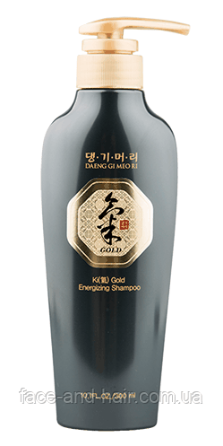 Энергетический шампунь для профилактики выпадения я волос DAENG GI MEO RI Ki Gold Energizing Shampoo, 300 мл