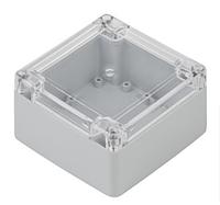 Корпус ZP105.105.60Jp с прозрачной крышкой для электроники