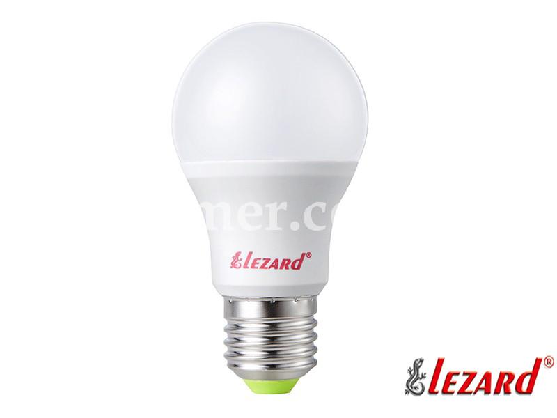 Лампа светодиодная шарик A45 5W 2700K E27 220V LEZARD