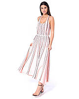 Платье женское Silvian Heach Boudinar Розовое (CVP19029VE)