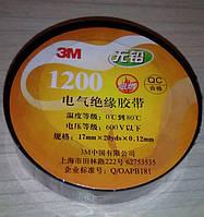 Изолента 3M 18,5 м x17мм х0,12мм серая