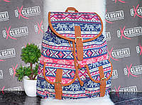 Летний тканевый рюкзак, фото 1