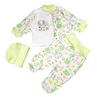 Детский комплект для девочки Зеленый (6135-083)