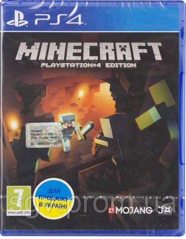 Minecraft Playstation 4 Edition (Blu-ray, Russian version) для PS4