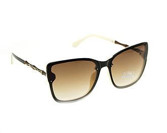 """Женские Солнцезащитные очки """"Egebar"""" Цвет - коричнево-белый"""