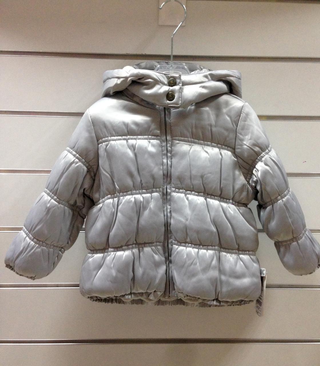 Куртка для девочки Kanz стальная