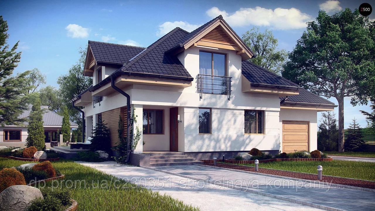 Проект дома uskd-68