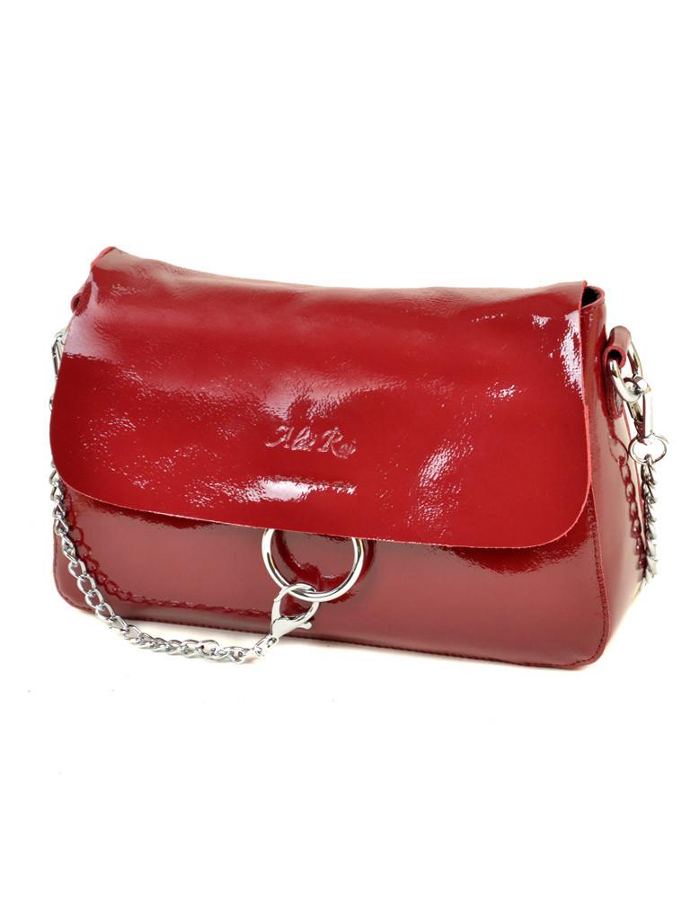 2730a4b68b4b Стильная женская кожаная сумка из натуральной лаковой кожи ALEX RAI ...