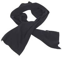Флисовый шарф 160x25 cm, черный