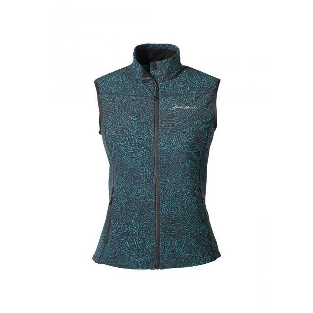Жилетка женская дутая Eddie Bauer Womens Sandstone Soft Shell Vest AZTEC BLUE