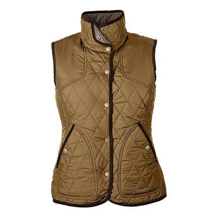 Жилетка женская дутая Eddie Bauer Womens Year-Round Field Vest AGED BRASS, фото 2