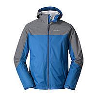 Мужская ветровка Eddie Bauer Mens Cloud Cap Flex Rain Jacket TRUE BLUE