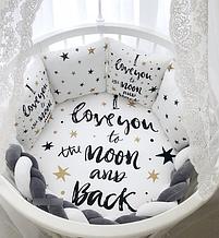 Постельный набор в кроватку Маленькая соня