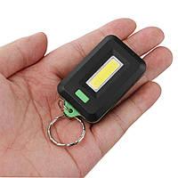 Карманный фонарь-брелок светодиодный 5833 зеленый, фото 1