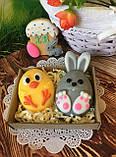 Пластиковая форма для мыла Кролик мультяшный, фото 3