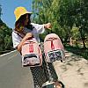 Молодежный рюкзак с принтом, фото 2