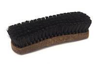 Щетка с деревянной колодкой, для чистки обуви и одежды 160мм