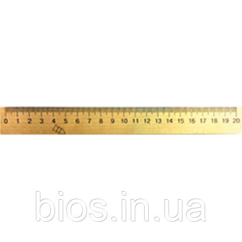Лiнiйка 20см дерев'яна (шовкографія)
