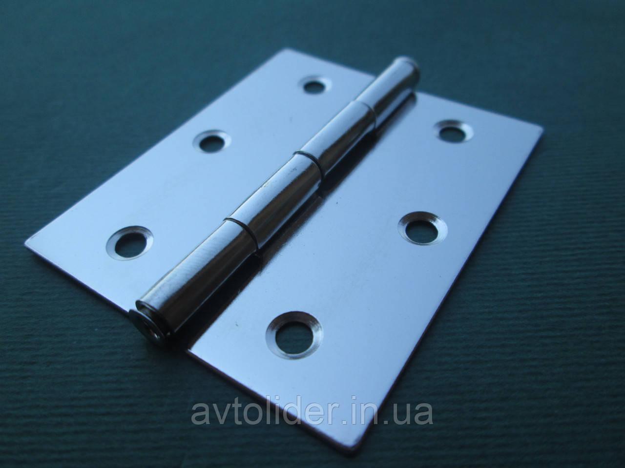 Нержавіюча петля дверна (товщина 0,8 мм).